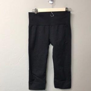 Lululemon grey crop leggings size 8.